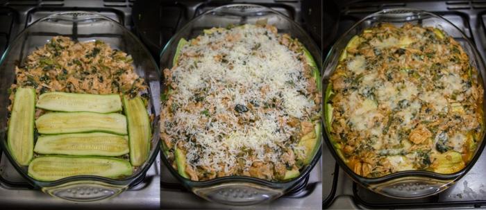 enchiladas Being Made